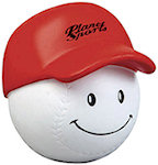 Baseball Mad Cap Stress Balls